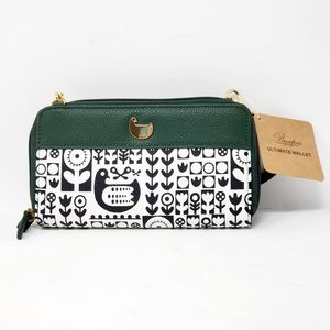 Buxton Nordic Flight Crossbody/Clutch